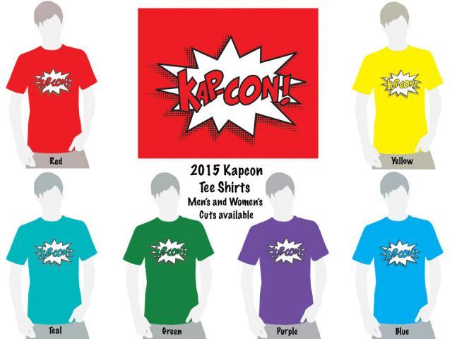 Kapcon 2015 t-shirts